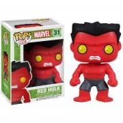 Funko Pop Red Hulk Marvel Vaulted Rojo Figura Retirada