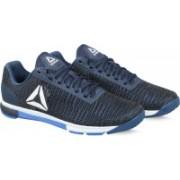 REEBOK SPEED TR FLEXWEAVE Walking Shoes For Men(Blue, Grey)