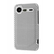 Slim Mesh Case for HTC Incredible S - HTC Hard Case (White)