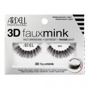 Ardell 3D Faux Mink 860 изкуствени мигли 1 бр за жени Black