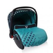 Детско столче-кошничка за кола Rachel 0-13 kg - сини точки