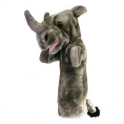 The Puppet Company Rhino Long Sleeved Glove Puppet
