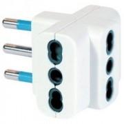 Spina elettrica adattatore tripla 16A