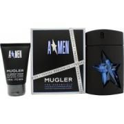 Thierry Mugler A*Men Presentset 100ml EDT Refillable + 50ml Duschgel