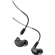 MEE M6 Pro Audio 2-a generație (M6PRO) (+ Aplici spuma T) Căști (monitoare) audiofil profesionale intratecal cu cablu detașabil - negru