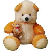 MS Aradhyatoys Sitting Teddy Bear soft toy Yellow 80cm