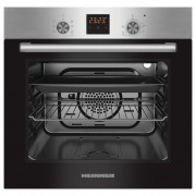 Cuptor incorporabil Heinner HBO-S567LDTGC-IX, Electric, 56 l, Mutifunctional, 7 Functii, Grill, Display Touch, Clasa A, Inox