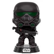 Funko Pop Star Wars Rogue One Imperial Death Trooper, Black
