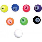 27mm Pool Billiard Ball Bouncy Balls 1 Gross (144 balls)