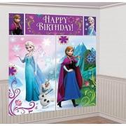 Amscan Disney Frozen Kit de escenas Decorativas