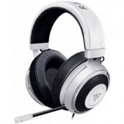 Слушалки razer kraken pro v2 analog gaming headset, white oval ear cushions. 50 mm audio drivers, unibody aluminum frame, rz04-02050500-r3m1