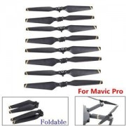 Tradico® TradicoBrand New 4Pairs Carbon Fiber Composite Folding Propeller Props Blades for DJI Mavic Pro