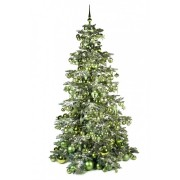 Xmasdeco Luxe kunstkerstboom groen verfrissend 240cm