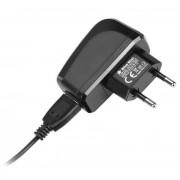 Incarcator retea Blue Star cablu detasabil USB la USB Type-C, 2A, negru