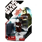 Star Wars Saga 2008 30th Anniversary Wave 1 Action Figure Clone Trooper With Cloak (Episode II)