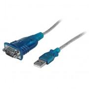 StarTech USB2.0 naar RS232 Seriële DB9 Adapterkabel M/M 30cm