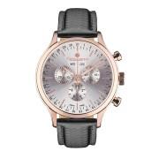 【86%OFF】Herrenuhr Tournante トリプルカレンダー クロノグラフ ウォッチ ブラック ファッション > 腕時計~~メンズ 腕時計