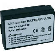 LP-E10 Canon kamera akku 7,4 V 800 mAh, (252635)