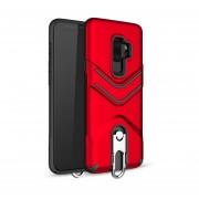 Funda Case Para Samsung S9 Plus Uso Rudo Heavy Duty - Rojo