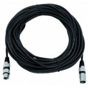 OMNITRONIC XLR cable 3pin 20m bk