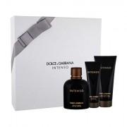 Dolce&Gabbana Pour Homme Intenso confezione regalo Eau de Parfum 125 ml + balsamo dopobarba 100 ml + doccia gel 50 ml uomo