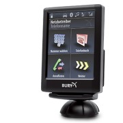 THB BURY CC9056 Kit Mains Libres Bluetooth A2DP avec Streaming MP3 et Ecran Couleur Tactile