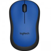 Мишка Logitech Wireless Mouse M220 Silent, Синя, 910-004879