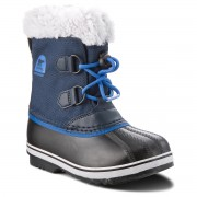 Cizme de zăpadă SOREL - Childrens Yoot Pac Nylon NC1879 Collegiate Navy/Super Blue 465