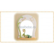 Erbesi Italia - Oglinda BUCANEVE alb-verde-orange