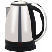 Wonder World ® Hot Water Pot Portable Boiler Tea Coffee Warmer Heater Cordless Electric Kettle(1.7 L, Silver)