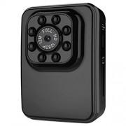 Eryanone R3 Full HD 1080P 2.0MP Mini videocámara de acción de la cámara, 120 Grados de ángulo Ancho, la Ayuda de la visión Nocturna/detección de Movimiento (Negro) Nueva (Color : Black)