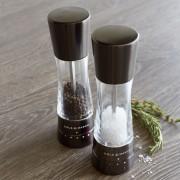 Комплект мелнички за сол и пипер COLE & MASON DERWENT GUNMETAL цвят графит с механизъм за прецизност - 19 см