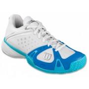 Wilson Rush Pro Clay Court Dames Tennisschoenen Wit Maat 37