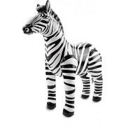 Folat 20273 Inflatable Zebra Black-White, One Size Fits Most