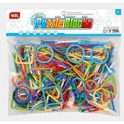 Sanyal Mini Bricks Blocks Toys for Kids Children Colorful Plastic Educational Smart Stick Building Block Models - ( Multicolor )