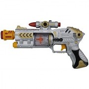 only4you Laser Sound Gun with Beam Light - Battery Operated - Amazing look