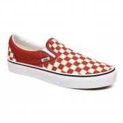Vans Slip-on Vans Classic Slip-On checkerboard picante/true white