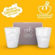 Комплект Чаши за Сок с Изражение (350мл.)