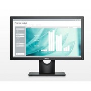 "Dell E1916H - Monitor LED - 18.51"" (18.51"" visível) - 1366 x 768 - TN - 200 cd/m² - 600:1 - 5 ms - VGA, DisplayPort - preto - c"