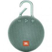 JBL Bluetooth® reproduktor JBL Clip 3 hlasitý odposlech, outdoor, odolná vůči stříkající vodě, tyrkysová