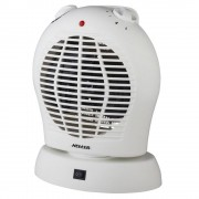 Heller HUFHOS 2000W Electric Fan Heater with Oscillating Base