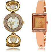 The Shopoholic White Rose Gold Combo Best Combo Pack White And Rose Gold Dial Analog Watch For Girls Watches For Girls Stylish