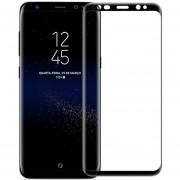 Louiwill Protector De Pantalla Galaxy S8 Plus, Pantalla Completa Protector De Pantalla De Cristal Templado Para Samsung Galaxy S8 Plus Con Burbuja Anti-huella Digital Gratuita Y Antiarañazos, Negro
