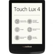 EBook Reader PocketBook Touch Lux 4, ecran tactil 6 inch E Ink Carta HD, 8GB+slot microSD, iluminare frontala, WiFi, grosime 8mm, Negru