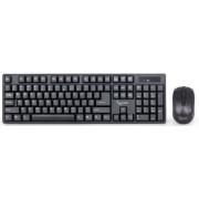 Kit Tastatura si Mouse Wireless Gembird KBS-W-01 (Negru)