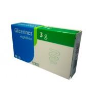 Teva-Glicerin végbélkúp 3 g 10x
