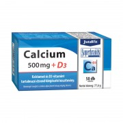 JutaVit Calcium 500 mg + D3 tabletta