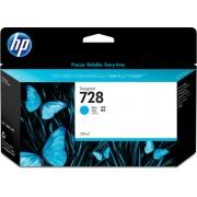 HP HP 728 130-ml Cyan DesignJet Ink Cartridge