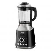 Blender de mare viteză Tefal Ultrablend Cook BL962B38, 1300 W, 8 programe automate, Recipient sticlă termorezistentă 1.5 L, Funcție de autocurățare, Negru