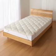 ダブルロング(あったか洗える清潔寝具 ふんわり敷きパッド)
